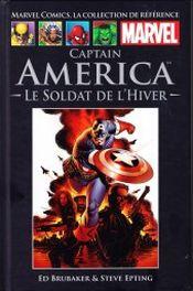 Couverture Captain America : Le Soldat de l'Hiver -  Marvel Comics La collection (Hachette)