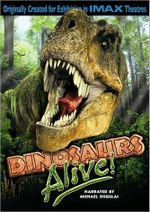 Affiche Dinosaures Vivants!