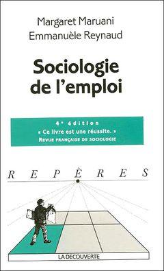 Couverture Sociologie de l'emploi
