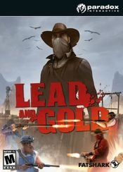 Jaquette Lead and Gold: Gangs of the Wild West