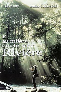 Affiche Et au milieu coule une rivière