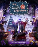 Jaquette Saints Row IV : How The Saints Save Christmas