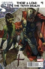 Couverture Thor & Loki: The Tenth Realm