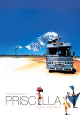 Affiche Priscilla, folle du désert