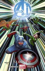 Couverture 12,000 A.D. - Avengers A.I., tome 2