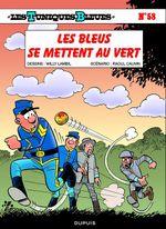 Couverture Les bleus se mettent au vert - Les Tuniques bleues, tome 58