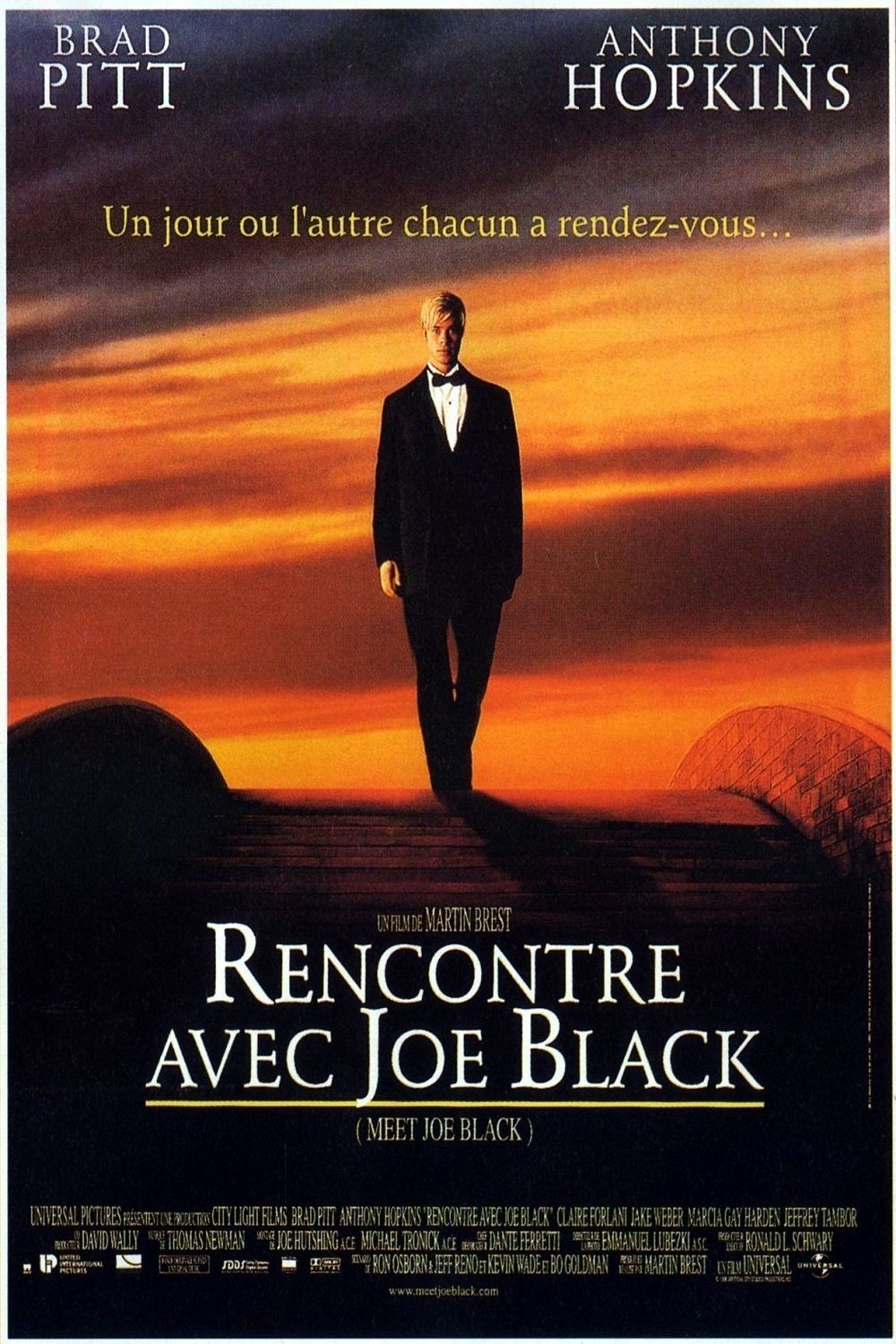 Rencontre avec joe black streaming dpstream
