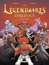 Couverture Gryfenfer - Les Légendaires : Origines, tome 3
