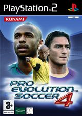 Jaquette Pro Evolution Soccer 4