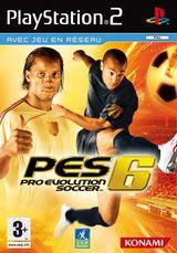 Jaquette Pro Evolution Soccer 6