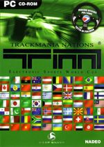 Jaquette TrackMania Nations