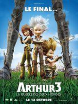 Affiche Arthur 3 : La Guerre des deux mondes