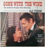 Pochette Gone With the Wind (OST)