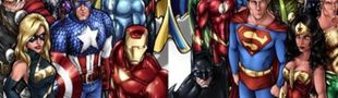 Cover Films Marvel VS Dc comics