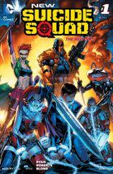 Couverture New Suicide Squad (2014 - 2016)