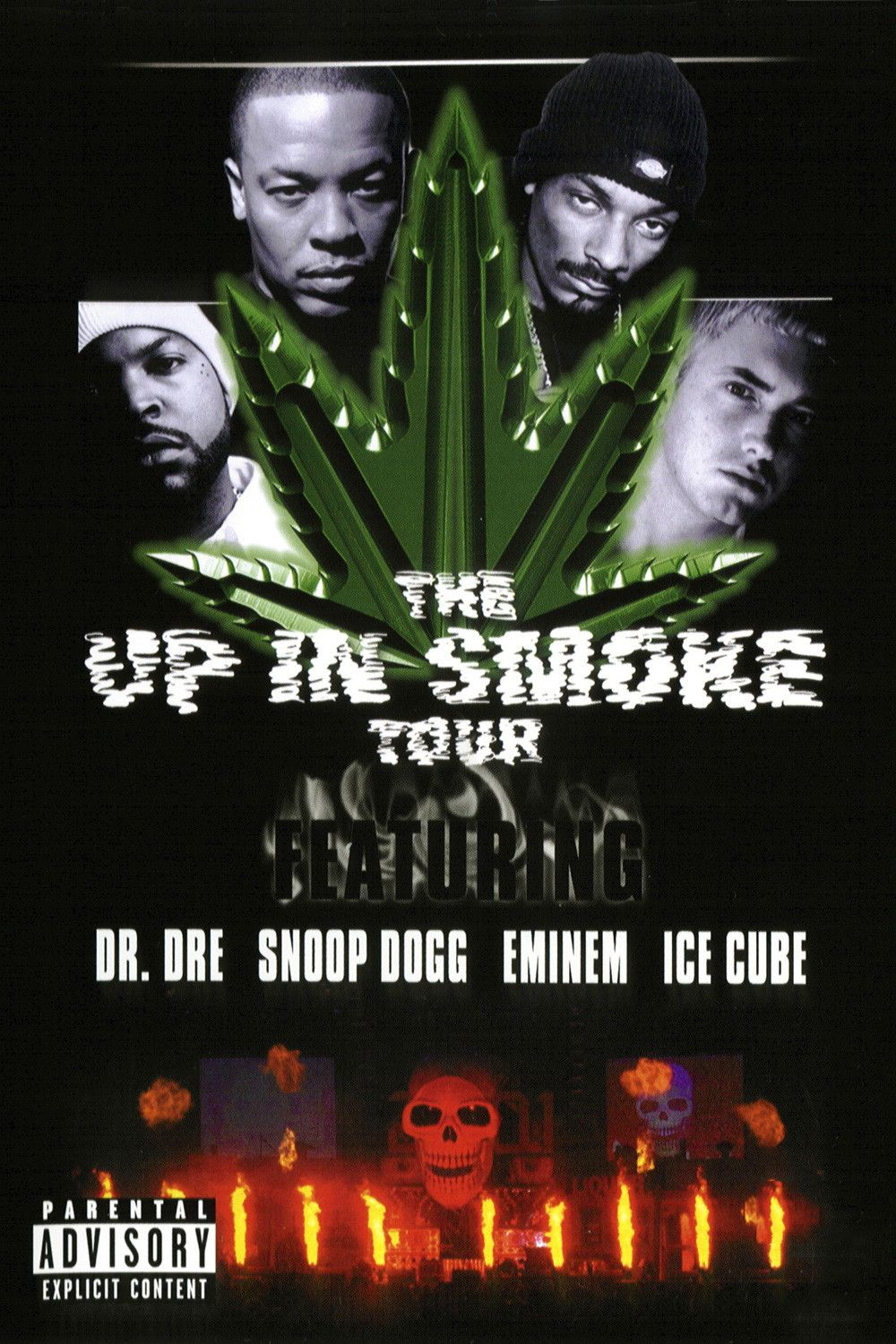 Ice Cube Cover Photo Beautiful the up in smoke tour - concert (2000) - senscritique