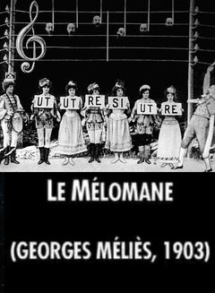Affiche Le Mélomane