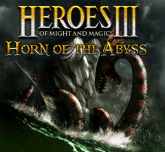 Jaquette Heroes of Might and Magic III : Horn of the Abyss
