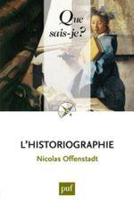 Couverture L'historiographie