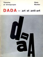 Couverture Dada : Art et anti-art