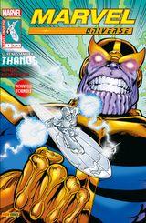 Couverture La Renaissance de Thanos - Marvel Universe (2e série), tome 7
