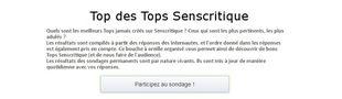 Cover Stagiaire Top Senscritique