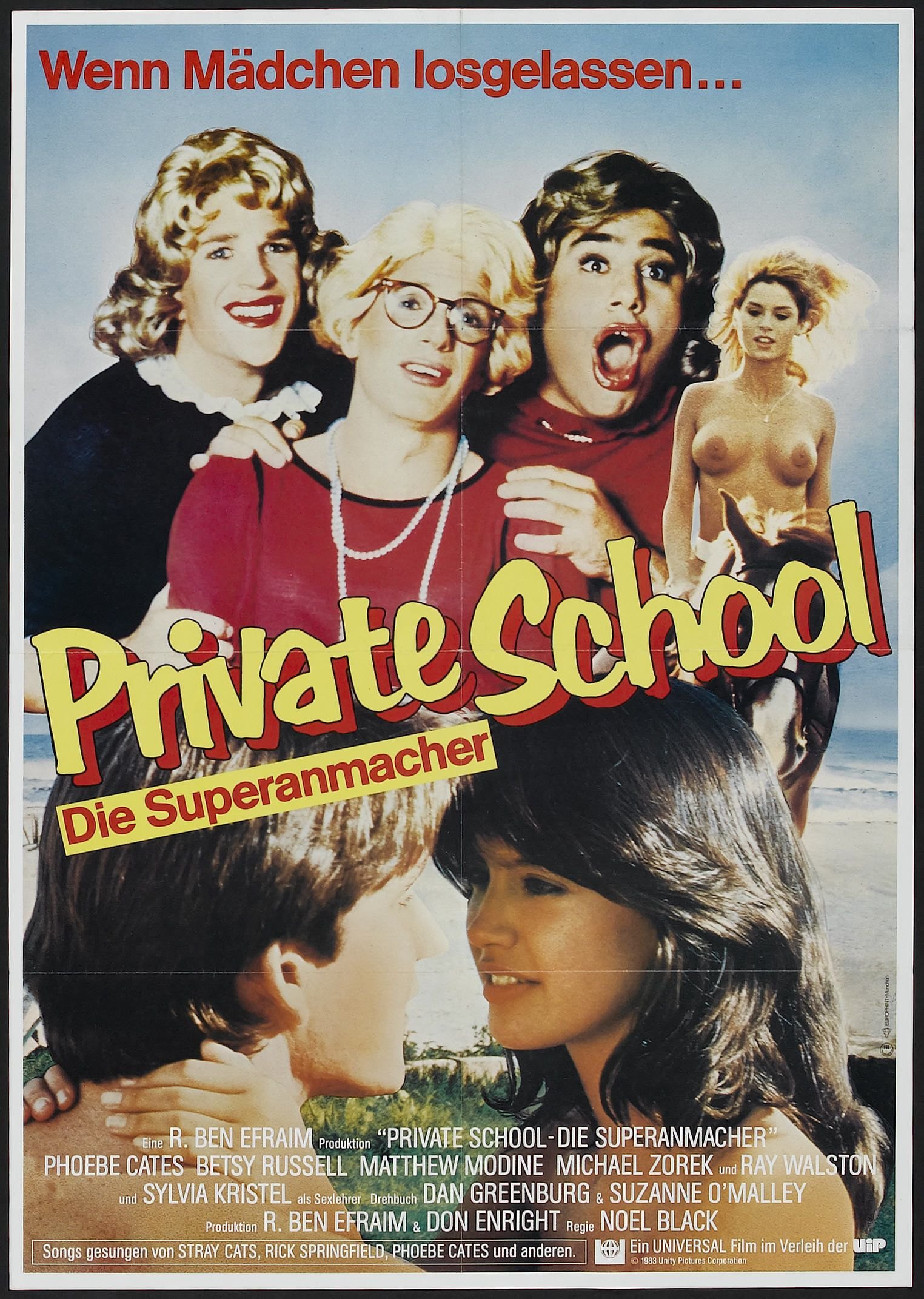 Affiches, posters et images de Private School (1983 ...