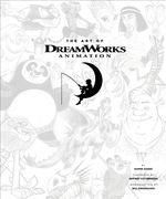 Couverture The Art of Dreamworks Animation
