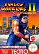 Jaquette Shadow Warriors II (Ninja Gaiden II)