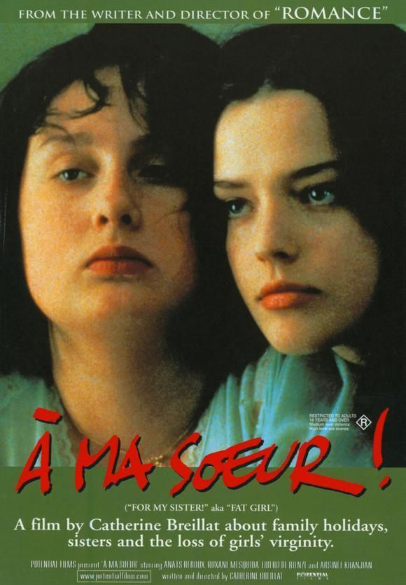 film essay à ma soeur Filmitalia: the official database of contemporary italian films english a ma soeur (film) by catherine breillat click on the images to download them in high res.