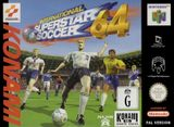Jaquette International Superstar Soccer 64