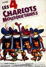 Affiche Les Quatre Charlots mousquetaires