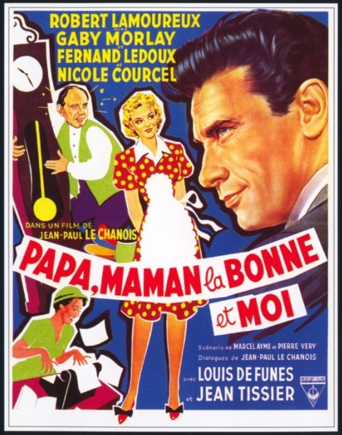 papa maman la bonne et moi film 1954 senscritique. Black Bedroom Furniture Sets. Home Design Ideas