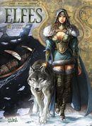 Couverture Le Crystal des Elfes sylvains - Elfes, tome 7