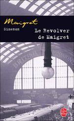 Couverture Le revolver de Maigret