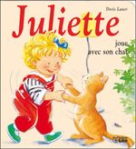 Couverture Juliette joue avec son chat