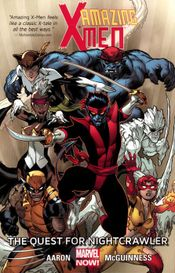 Couverture The Quest for Nightcrawler - Amazing X-Men (2013), tome 1