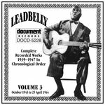 Pochette Complete Recorded Works 1939–1947 in Chronological Order: Volume 3, October 1943 to 25 April 1944