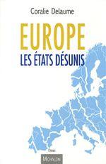 Couverture Europe, les États Désunis