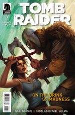 Couverture On the Brink of Madness - Tomb Raider #6