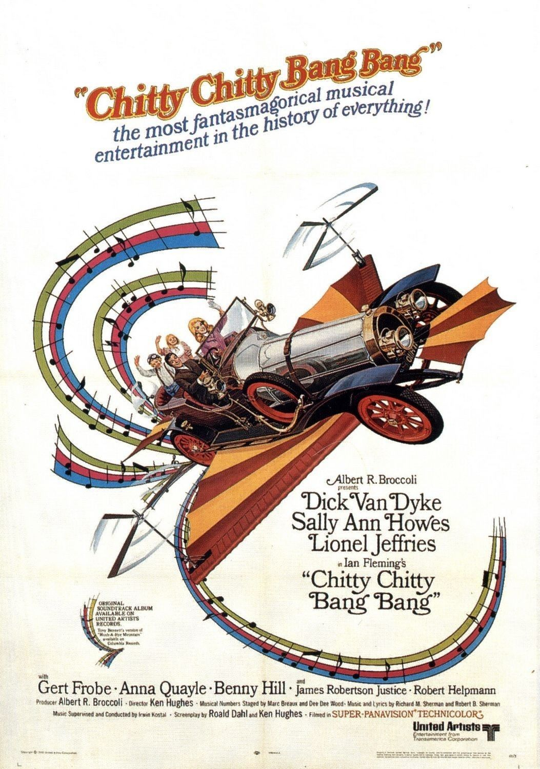 Chitty Chitty Bang Bang Book - Vintage 1964- Excellent Condition!
