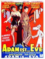 Affiche Adam est... Ève