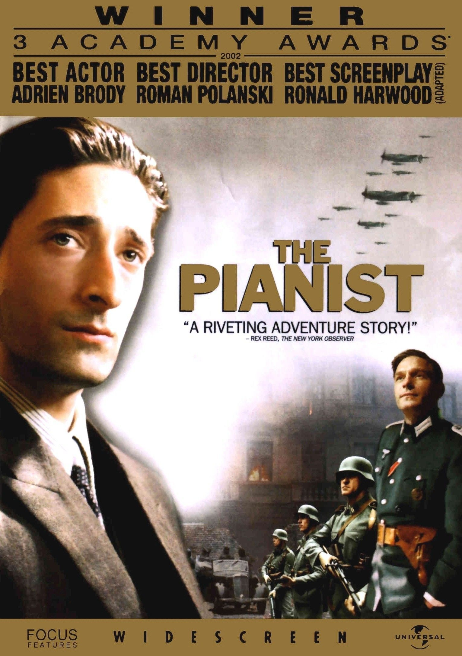 Affiches, posters et i... Adrien Brody The Piano