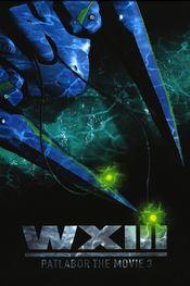 Affiche Patlabor WXIII