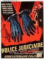 Affiche Police judiciaire