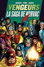 Couverture Vengeurs : La Saga de Korvac