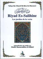 Couverture Riyad es-Salihine les jardins de la vertu
