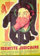 Affiche Identité judiciaire
