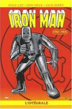 Couverture 1963-1964 - Iron Man : L'Intégrale, tome 1