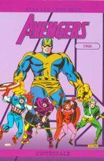 Couverture 1966 - The Avengers : L'Intégrale, tome 3